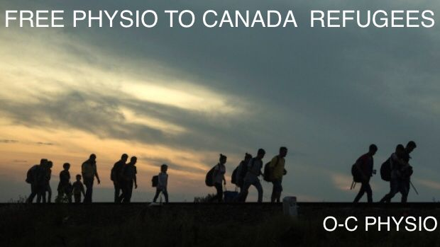 Free physio to Canada refugees